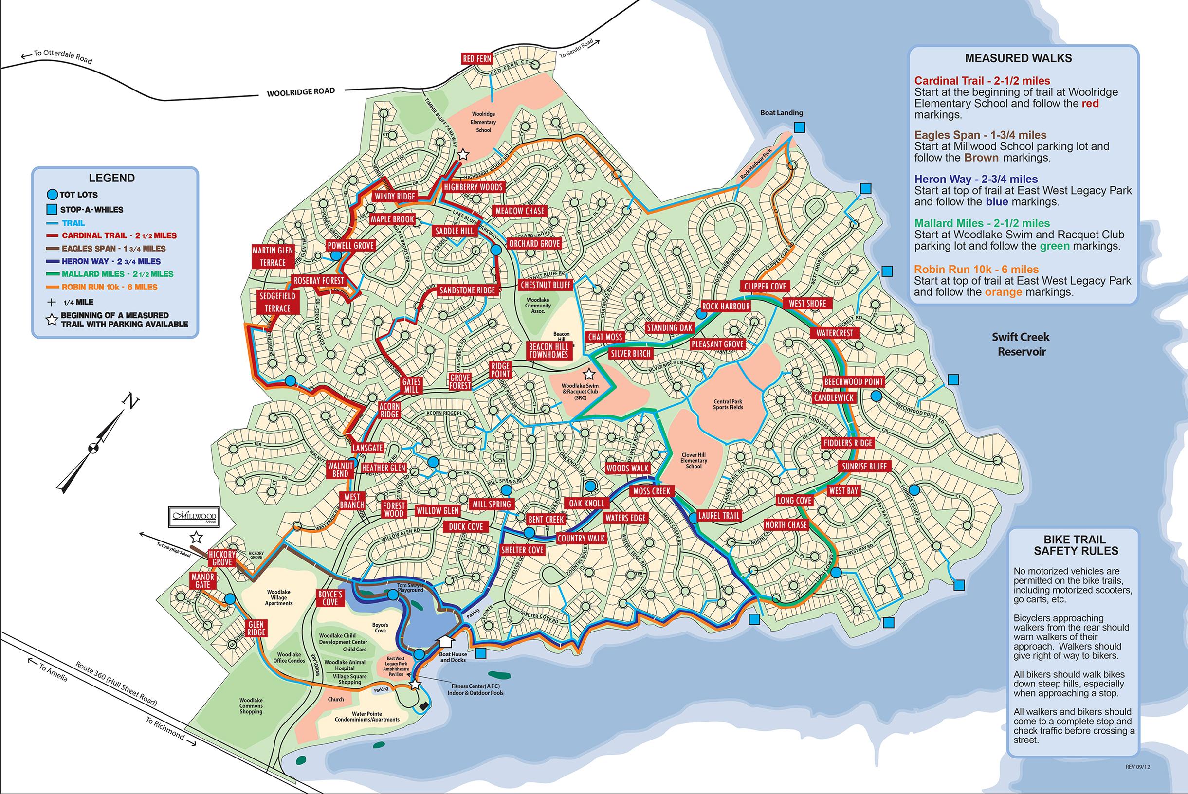Woodlake Life On The Lake Community Map