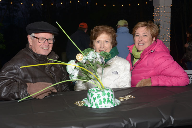St. Paddy's Day at the Woodlake Pavilion