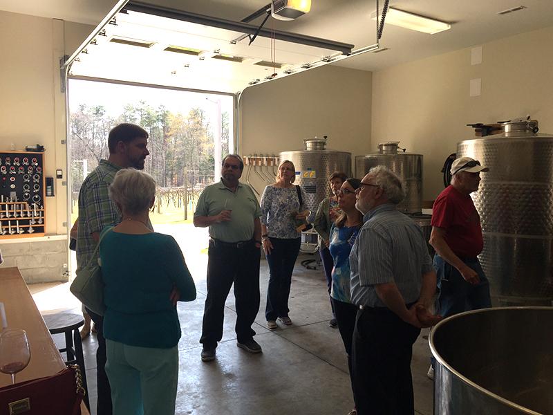SWAAG Visits Skippers Creek Vineyard